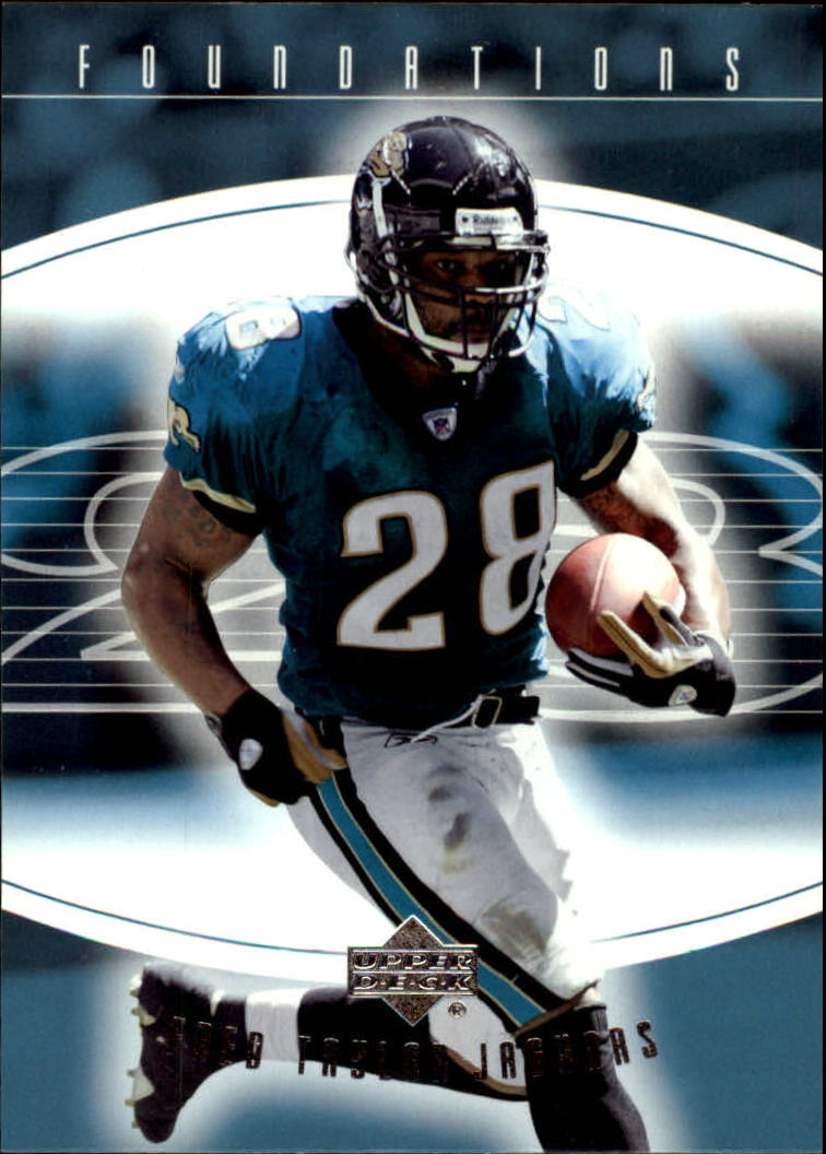 2004 Upper Deck Foundations #44 Fred Taylor front image