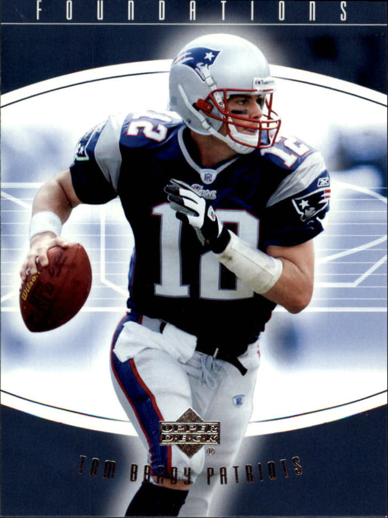 2004 Upper Deck Foundations #58 Tom Brady