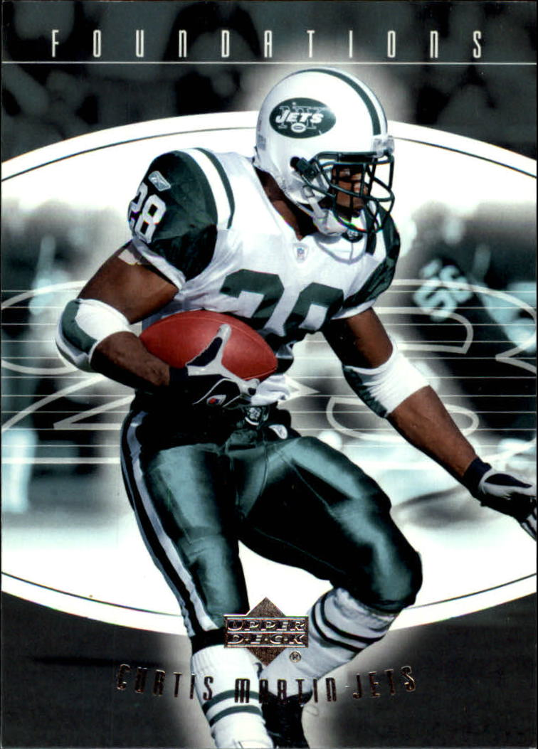 2004 Upper Deck Foundations #66 Curtis Martin front image