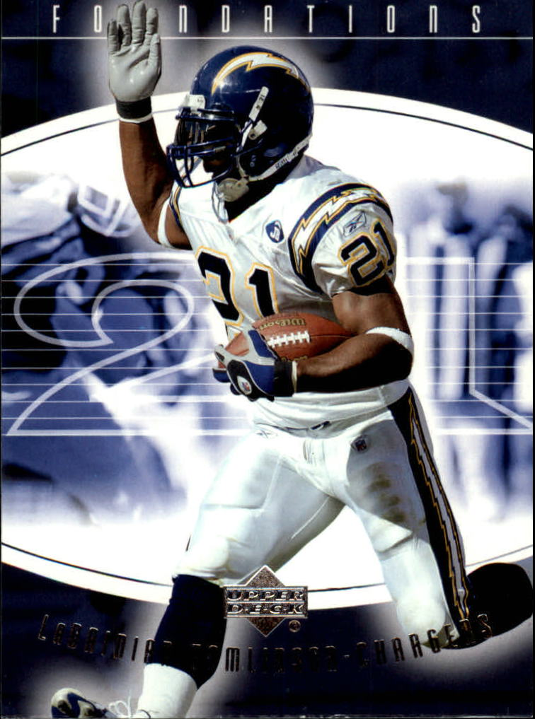 2004 Upper Deck Foundations #80 LaDainian Tomlinson