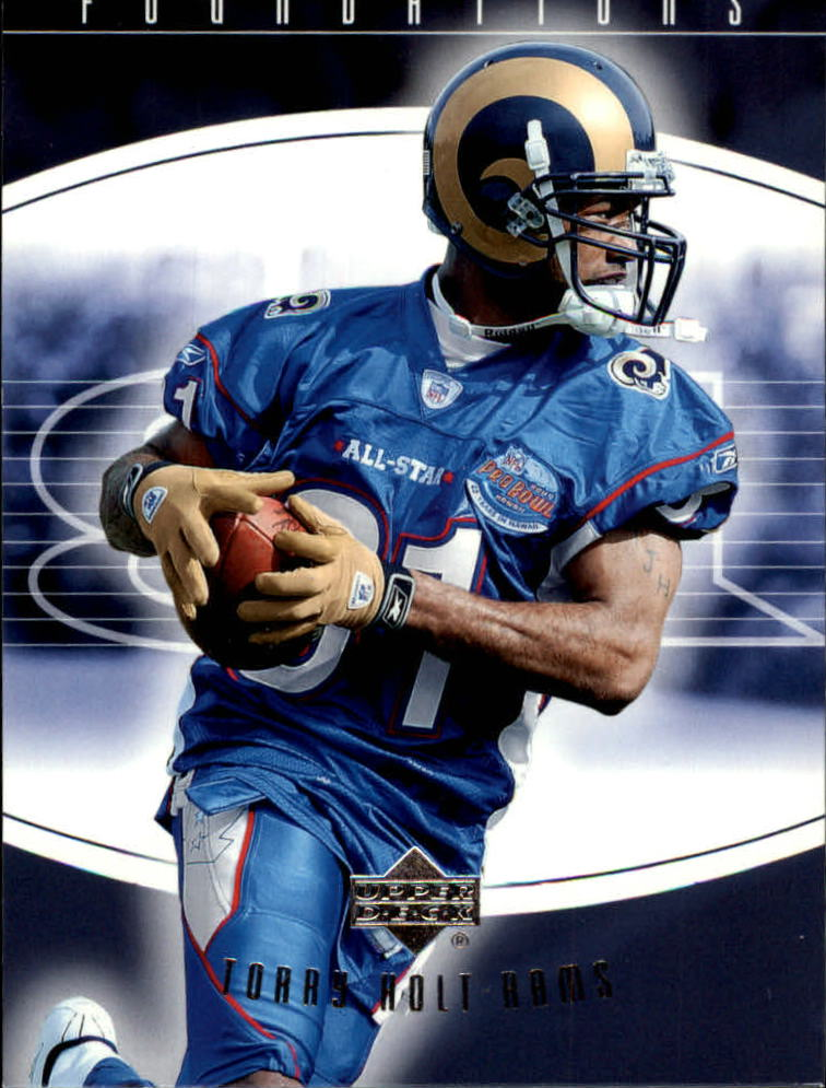 2004 Upper Deck Foundations #89 Torry Holt