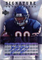 2004 Upper Deck Foundations Signature Foundations #SFBB Bernard Berrian