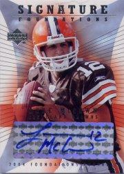 2004 Upper Deck Foundations Signature Foundations #SFLM Luke McCown