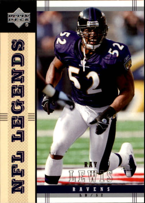 2004 Upper Deck Legends #5 Ray Lewis
