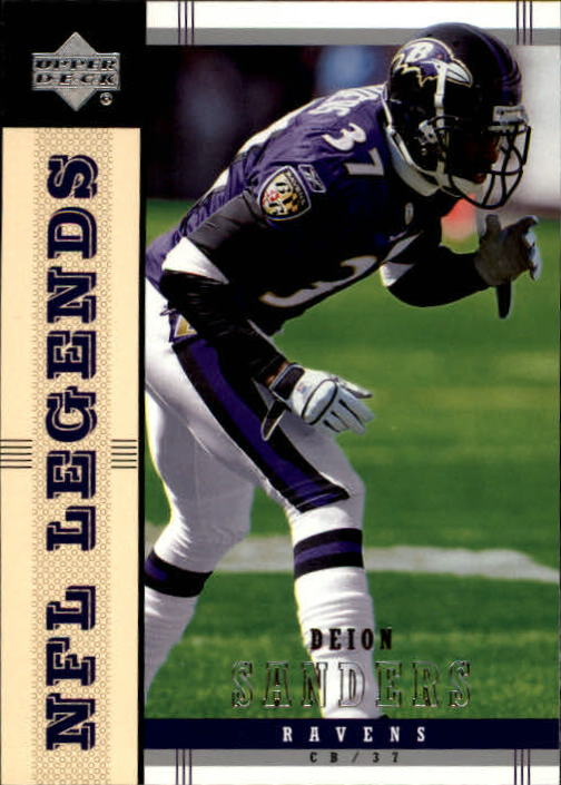 2004 Upper Deck Legends #7 Deion Sanders