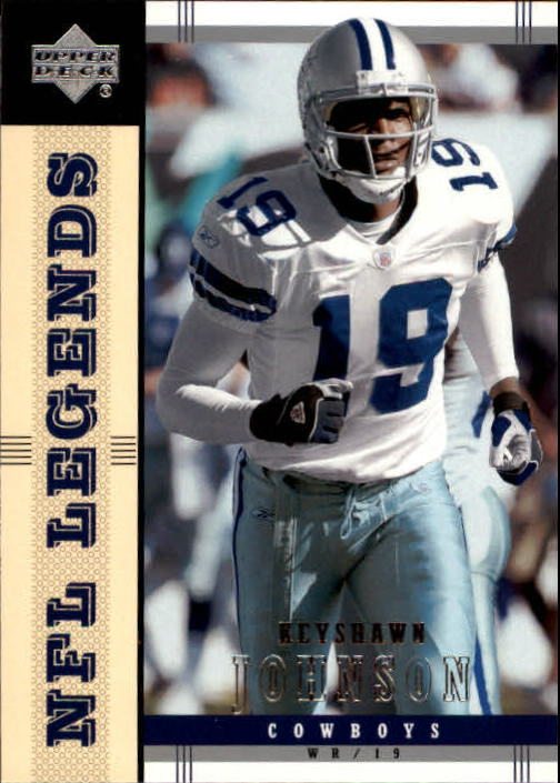2004 Upper Deck Legends #25 Keyshawn Johnson