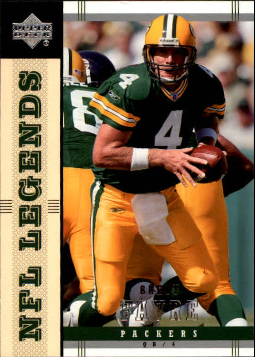 2004 Upper Deck Legends #32 Brett Favre front image