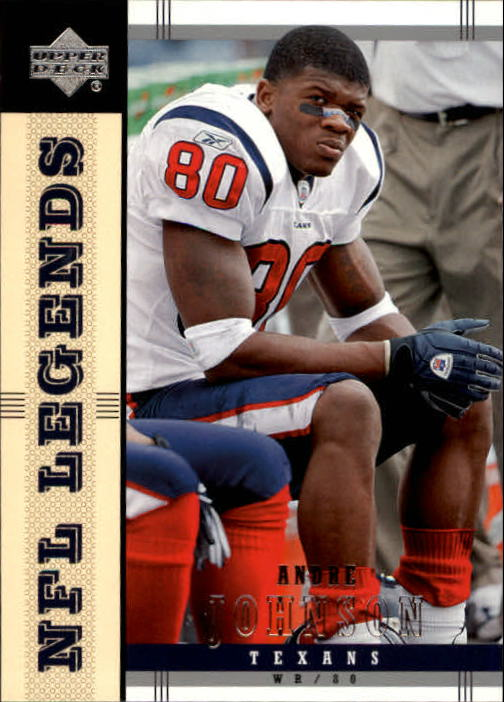2004 Upper Deck Legends #36 Andre Johnson
