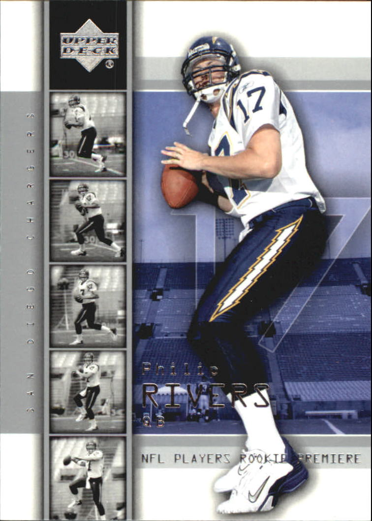 2004 Upper Deck Rookie Premiere #3 Philip Rivers