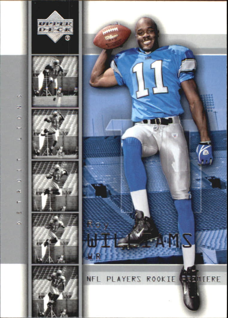2004 Upper Deck Rookie Premiere #4 Roy Williams WR front image