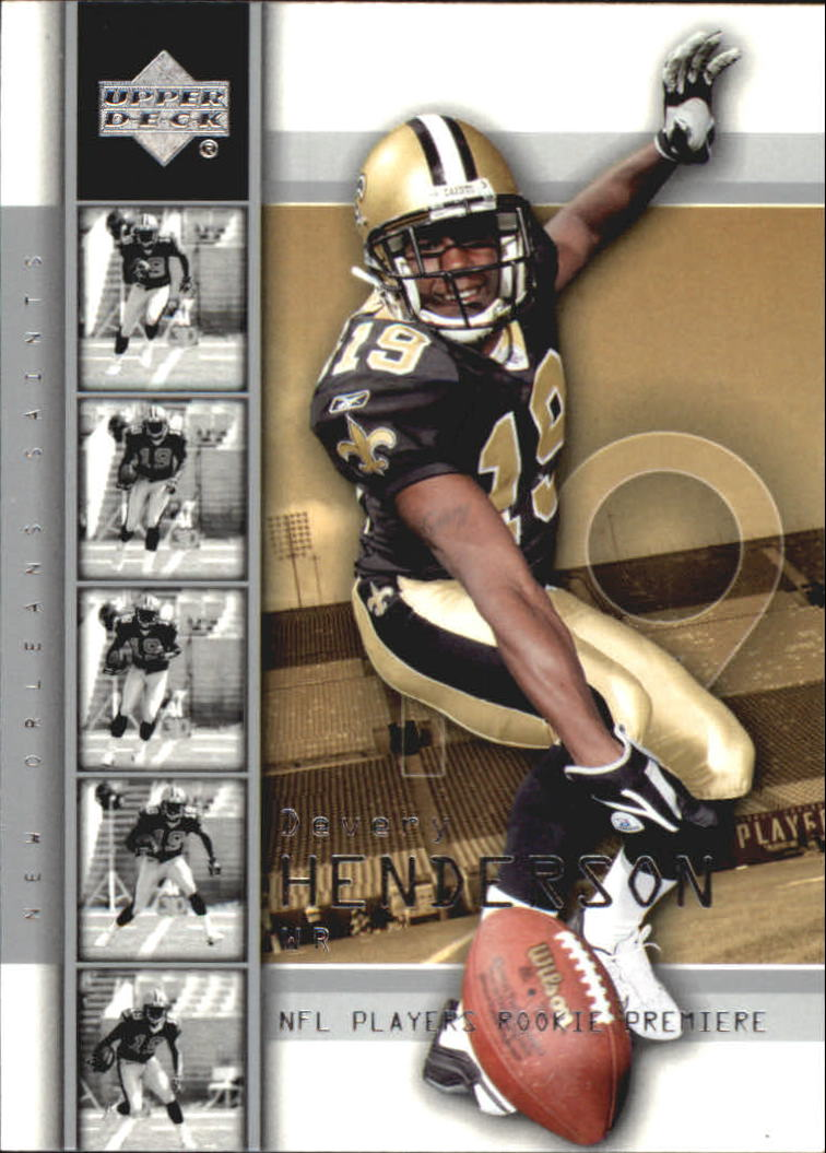 2004 Upper Deck Rookie Premiere #10 Devery Henderson