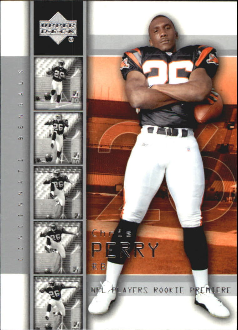 2004 Upper Deck Rookie Premiere #12 Chris Perry