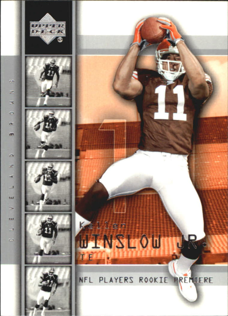 2004 Upper Deck Rookie Premiere #13 Kellen Winslow Jr.