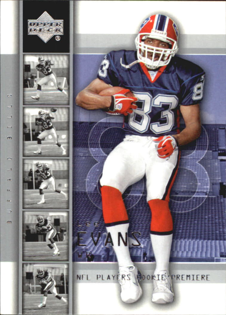 2004 Upper Deck Rookie Premiere #14 Lee Evans