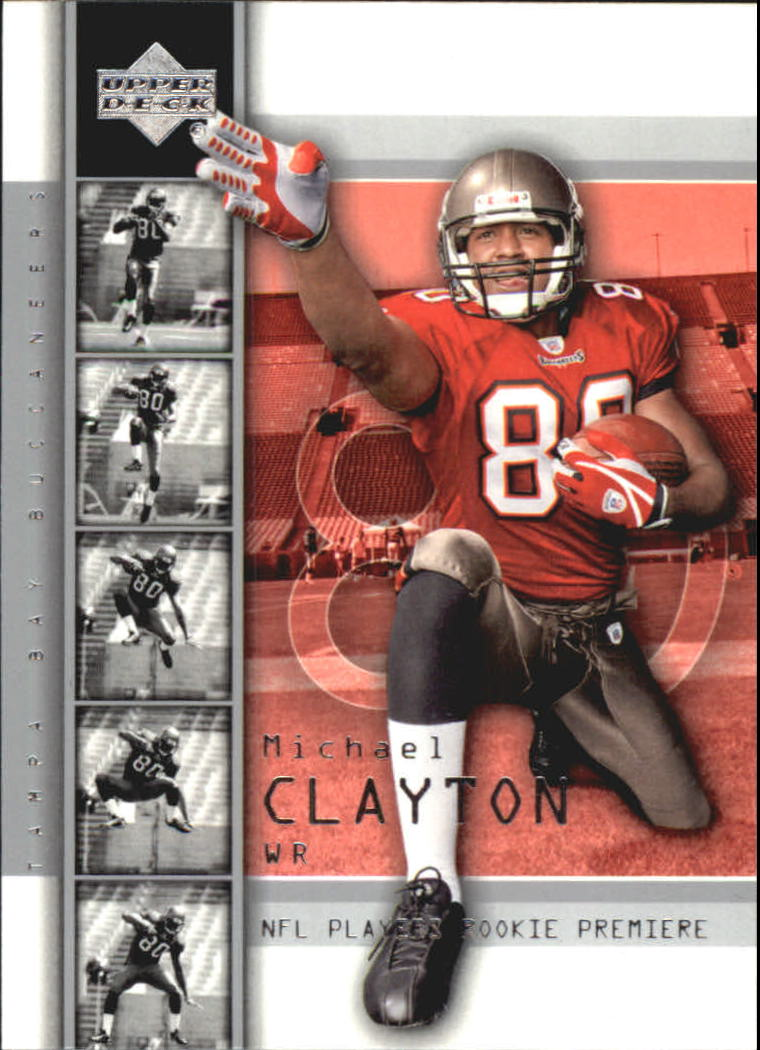 2004 Upper Deck Rookie Premiere #17 Michael Clayton
