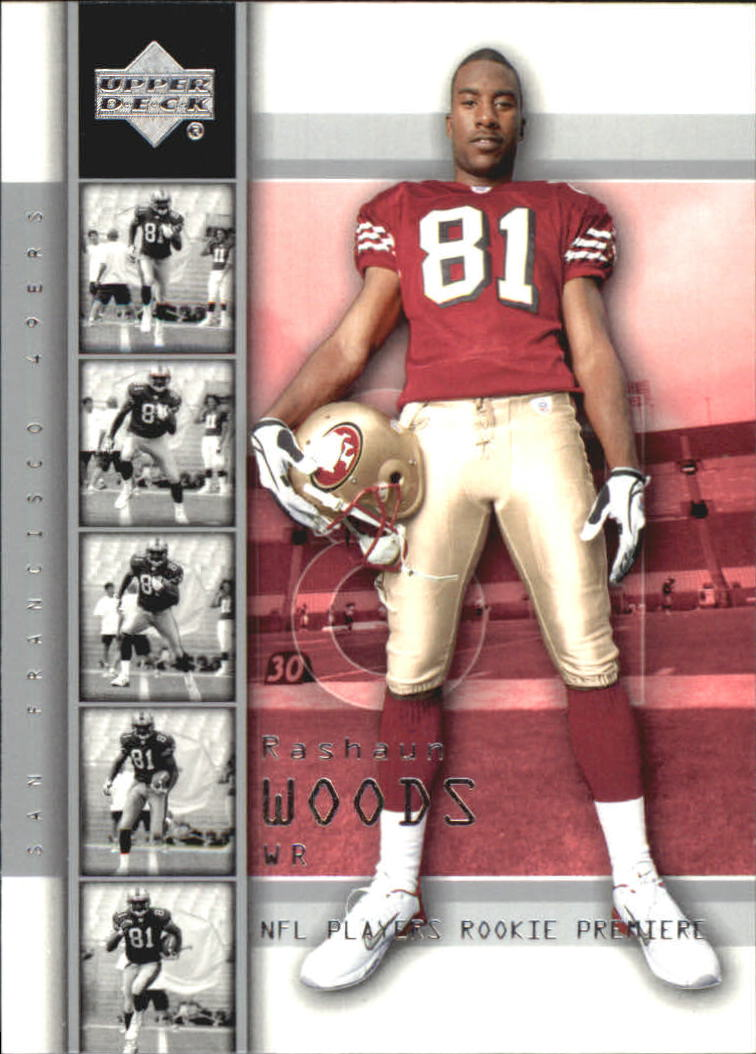 2004 Upper Deck Rookie Premiere #19 Rashaun Woods