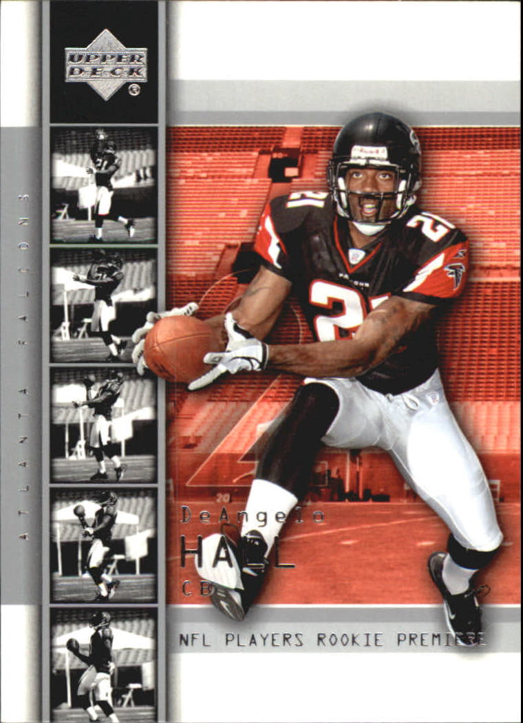 2004 Upper Deck Rookie Premiere #20 DeAngelo Hall