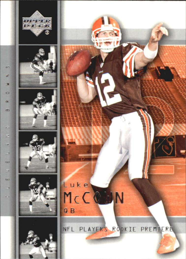 2004 Upper Deck Rookie Premiere #22 Luke McCown