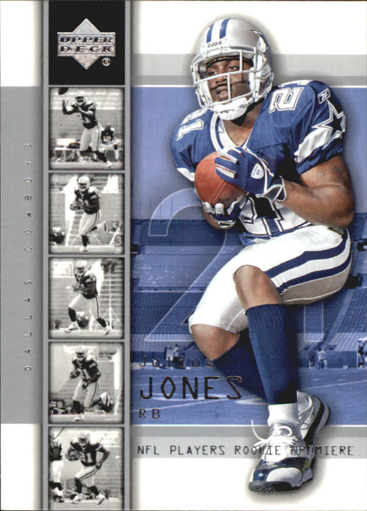 2004 Upper Deck Rookie Premiere #24 Julius Jones