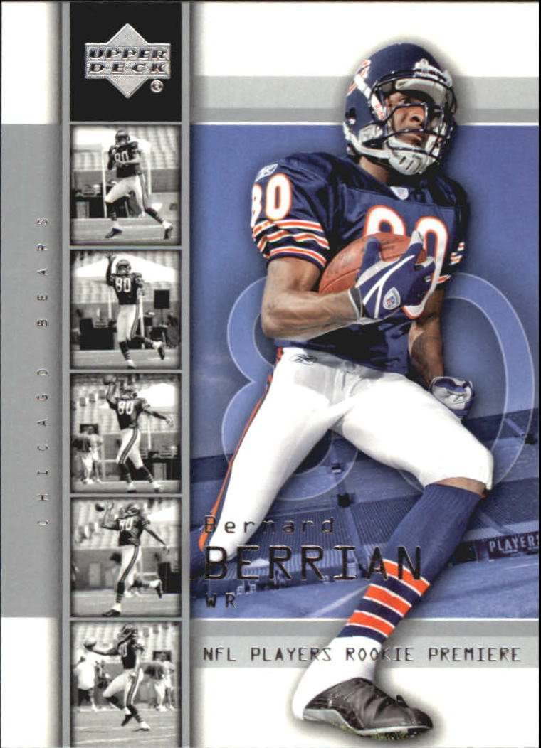 2004 Upper Deck Rookie Premiere #27 Bernard Berrian