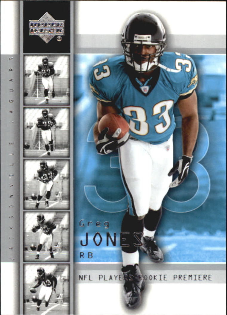 2004 Upper Deck Rookie Premiere #28 Greg Jones