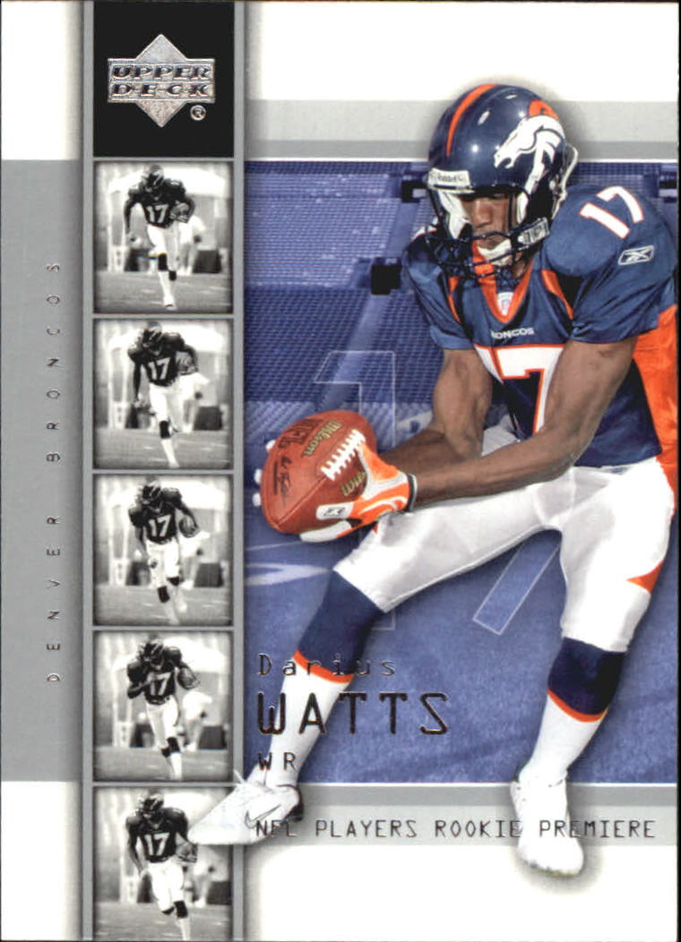 2004 Upper Deck Rookie Premiere #29 Darius Watts