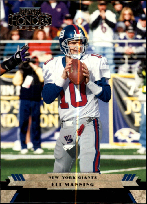 2005 Playoff Honors #65 Eli Manning
