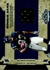 2005 Playoff Honors #229 Vincent Jackson JSY RC