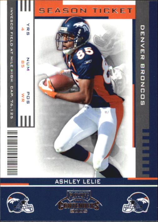 2005 Playoff Contenders #29 Ashley Lelie