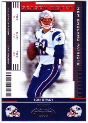 2005 Playoff Contenders #59 Tom Brady