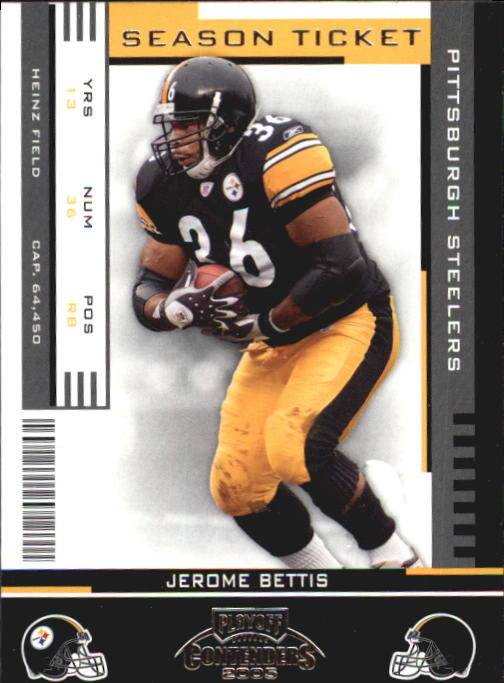 2005 Playoff Contenders #79 Jerome Bettis