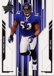 2005 Leaf Rookies and Stars #9 Ray Lewis