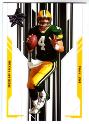 2005 Leaf Rookies and Stars #36 Brett Favre