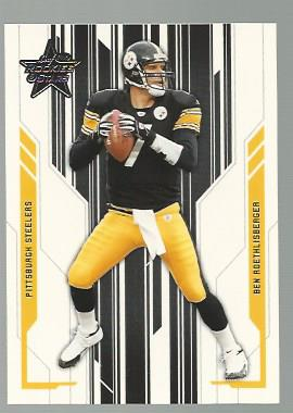 2005 Leaf Rookies and Stars #75 Ben Roethlisberger