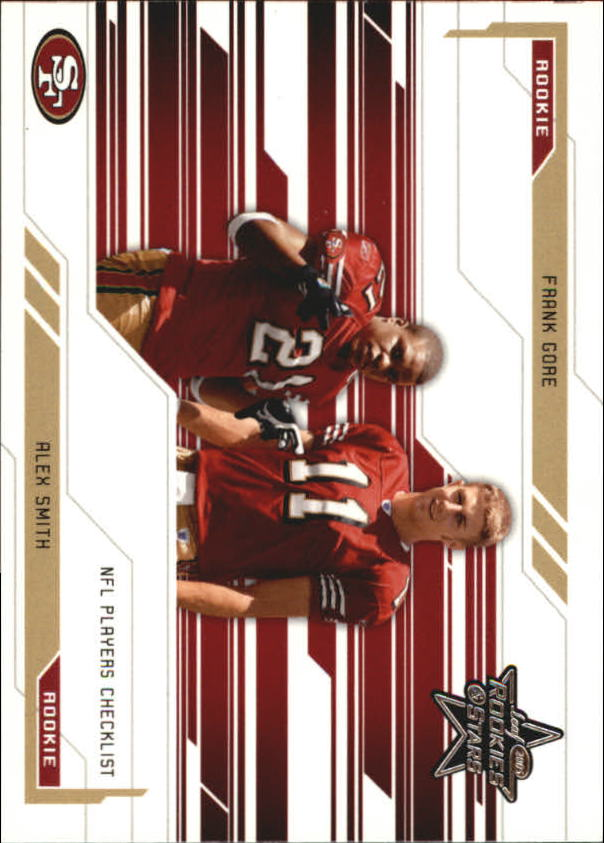 2005 Leaf Rookies and Stars #97 Alex Smith QB CL/Frank Gore