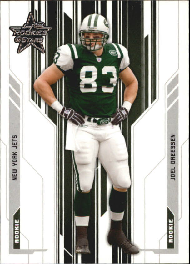 2005 Leaf Rookies and Stars #181 Joel Dreessen RC