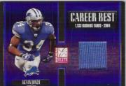 2005 Donruss Elite Career Best Jerseys #CB28 Kevin Jones