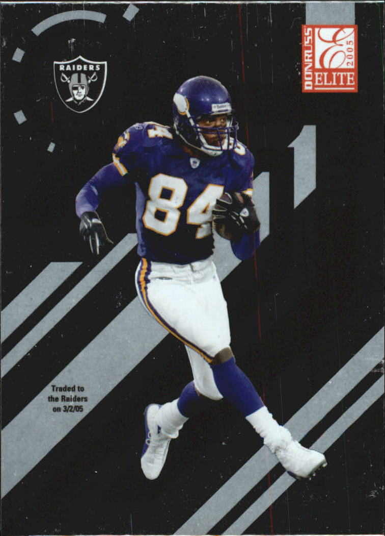 2005 Donruss Elite #53 Randy Moss