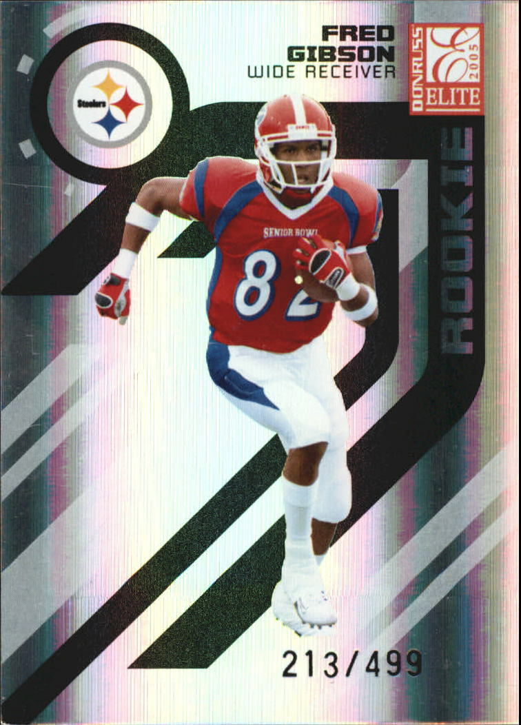 2005 Donruss Elite #150 Fred Gibson RC