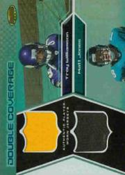 2005 Bowman's Best Double Coverage Jerseys #DCRWJ Matt Jones/Troy Williamson