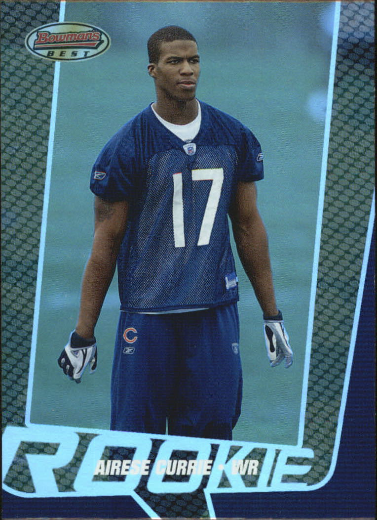 2005 Bowman's Best #86 Airese Currie RC