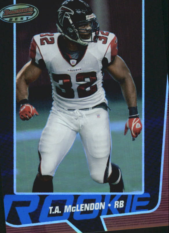 2005 Bowman's Best Blue #81 T.A. McLendon