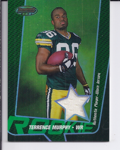 2005 Bowman's Best Green #117 Terrence Murphy JSY