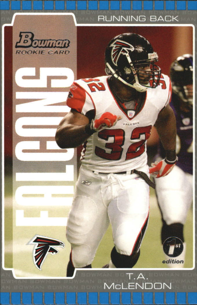 2005 Bowman First Edition #227 T.A. McLendon