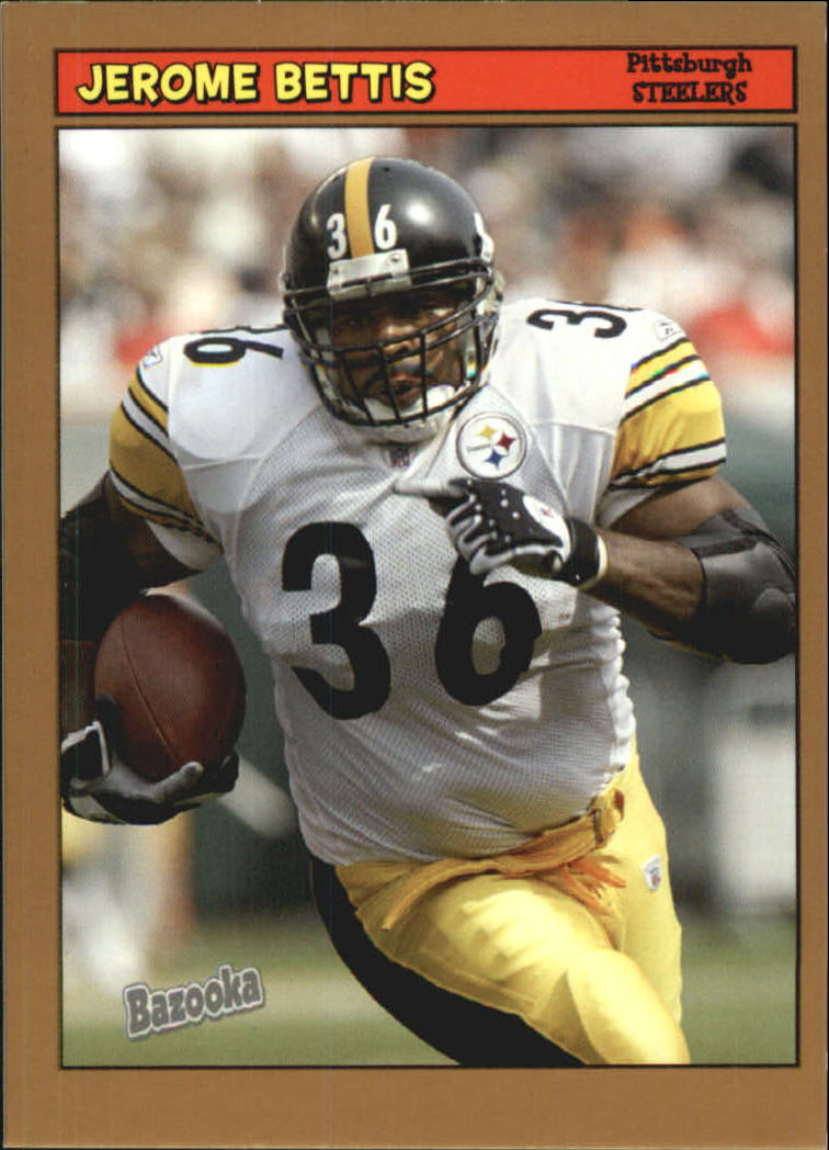 2005 Bazooka Gold #36 Jerome Bettis