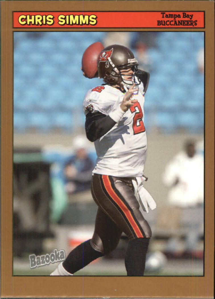 2005 Bazooka Gold #115 Chris Simms
