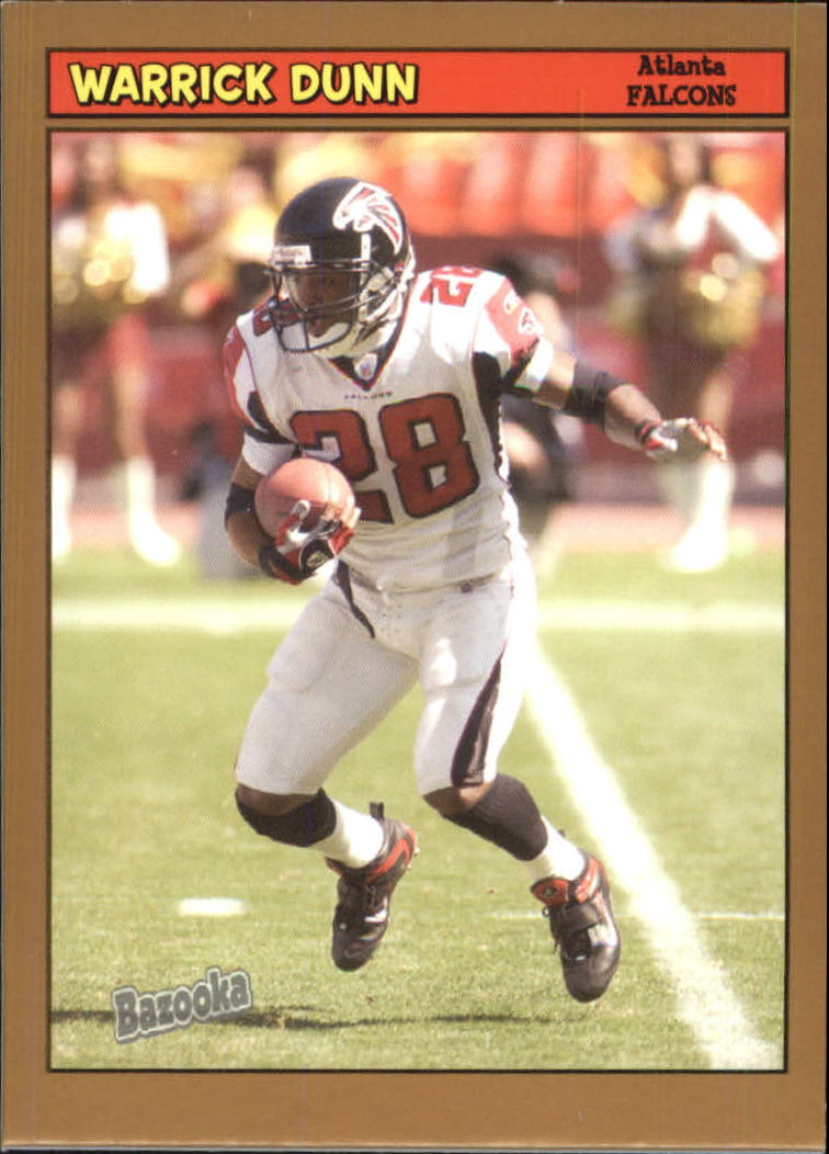 2005 Bazooka Gold #120 Warrick Dunn