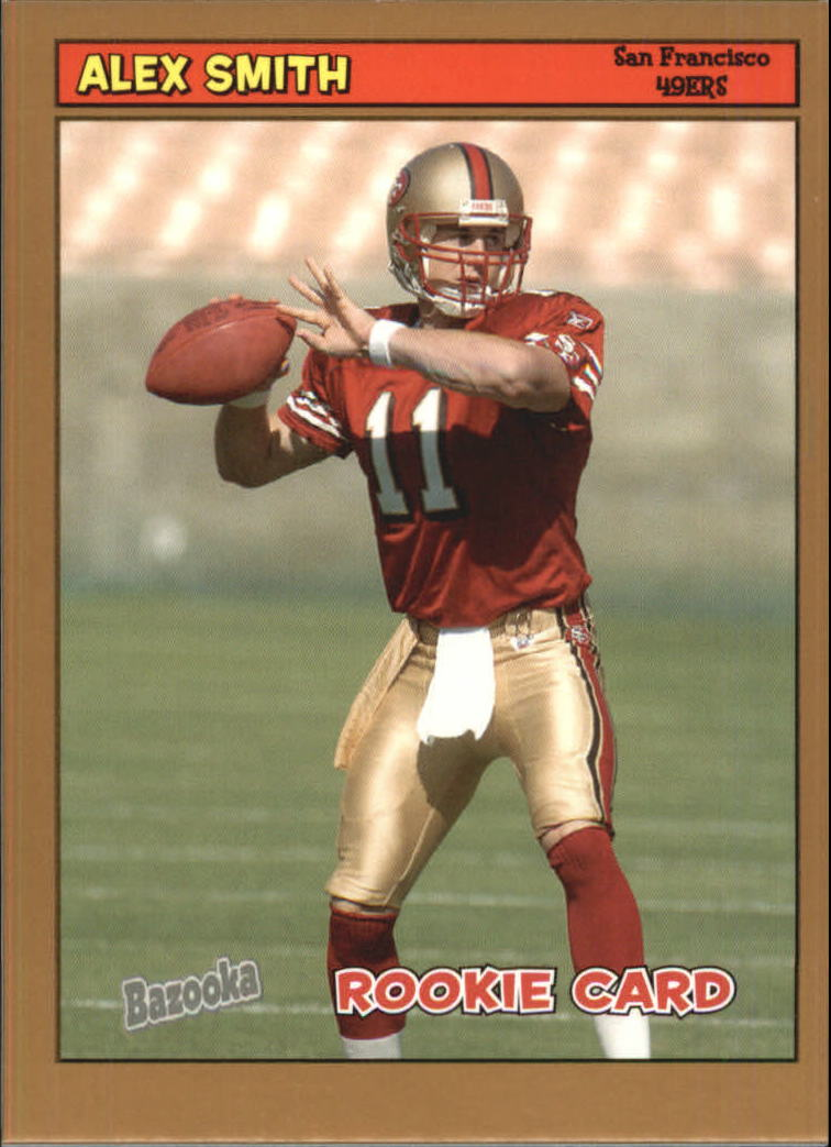 2005 Bazooka Gold #194 Alex Smith QB