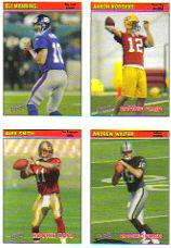 2005 Bazooka Stickers #42 Aaron Rodgers/Alex Smith QB/Andrew Walter/Eli Manning