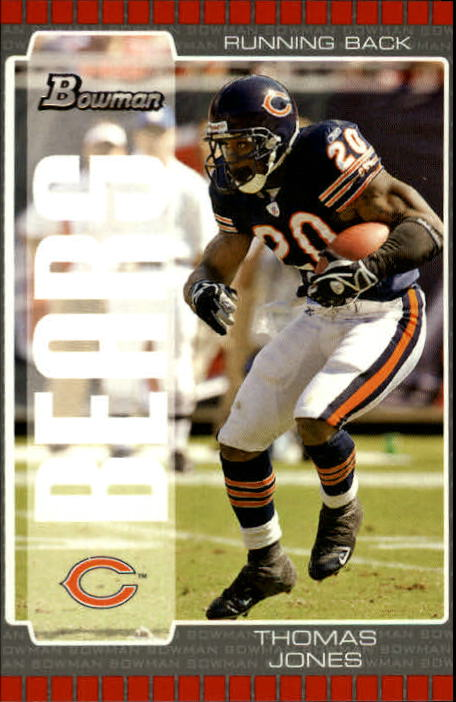 2005 Bowman #20 Thomas Jones